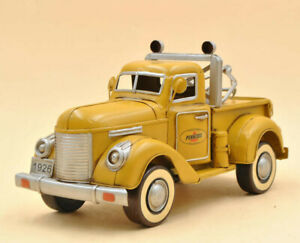 """Pennzoil Tow Truck Metal Desk Model 12"""" Automotive Decor Decoration Figure Gift"""