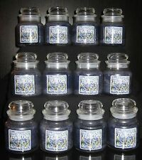 Yankee Candle - MAINE BLUEBERRY - (12) 3.7 oz Jars - RARE 2001 POUR!
