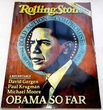 Rolling Stone Magazine August 20 2009 Obama So Far Michael Jackson NM Condition