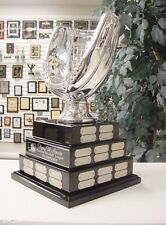 3 TIER LARGE FANTASY BASEBALL  PERPETUAL AWARD 38 YEARS TOP OF THE LINE SILVER