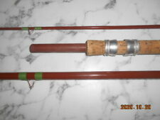 WOOLWORTH  KINGFISHER 3PCE HOLLOW GLASS 11FT FLOAT ROD