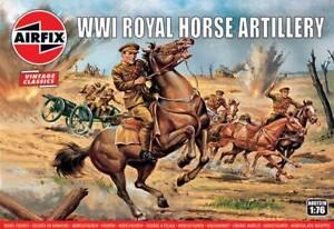 Airfix Vintage Classic 1/72 WWI Royal Horse Artillery # A00731V