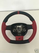 Fondo PIATTO FOCUS ST retrimmed Volante in Pelle Cuciture Rosse 05-11 CARBON