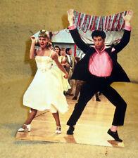 "John Travolta & Olivia Newton-John ""Grease"" Movie Tabletop Display Standee 9.5"