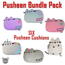 OFFICIAL Pusheen Cat 6 Bundle Exclusive Pillow Bed Sofa Plush Cushion UK