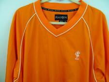 Footjoy Golf Shirt XL FJ North Jersey Country Club Rain Wind Pockets 54 Chest