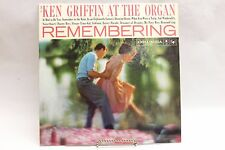 "Ken Griffin at the Organ ""Remembering"" Columbia LP CL 1289"
