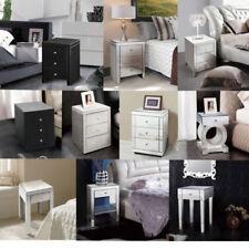 Tables de chevet et rangements gris moderne pour la chambre à coucher