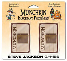 Munchkin Imaginary Frenemies Booster Adds 2 Cards Game Expansion Steve Jackson
