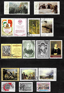 Russia & Soviet Union .. 2 Pages of superb postage stamps .. 5030