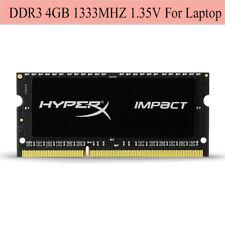 Pour Kingston HyperX Impact 4GB 8GB 16GB 1333MHz DDR3L PC3L-10600S Laptop RAM FR