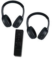 Chrysler Town and Country  uConnect BluRay Remote and headphones  2014 2015 2016