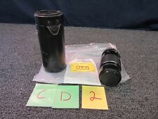 CANON 200MM CAMERA FD LENS 1:4 SSC 100FT TELEPHOTO HARD CASE CLEAN USED