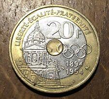 PIECE DE 20 FRANCS COUBERTIN 1994 (137)