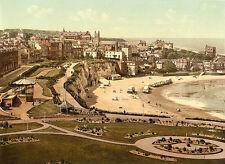 Vintage Edwardian Seaside Photochrome Photo Reprint Broadstairs A4