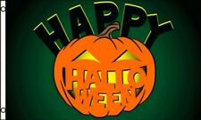 3'x5' Happy Halloween Pumpkin Flag Outdoor Indoor Banner Jack O' Lantern New 3x5
