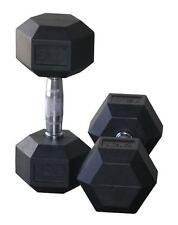 Protoner  Hex Rubber  Dumbells 10 Kg X 2 Total 20 Kg