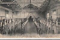 Postcard Houston Club Philadelphia PA Gym Weightman Hall University Pennsylvania