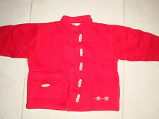 Gilet rouge  - Taille 4 ans