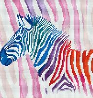 5D Diamond Painting Full Drill DIY Zebra Embroidery Cross Stitch Kits Wall Decor