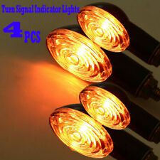4x Motorcycle Dirt Bike Mini Turn Signal Indicator Light for Honda Suzuki Yamaha
