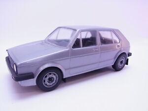 65384 Emek Finland VW Volkswagen Golf 1 4-türig Silver 1:20 Model Car Rarely