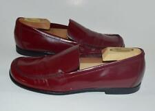 PRADA 36.5 / 6.5 cordovan red leather loafers oxfords mocassin shoes ITALY