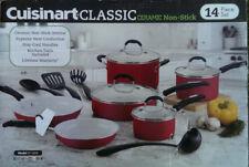 Cuisinart Classic 14 Piece Ceramic Non Stick Cookware Set