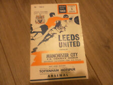 More details for 1969 charity sheild leeds united v manchester city    2