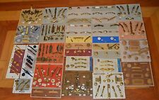 Vtg 232 Lot of Sample Display Board Drawer Pulls Handle Cabinet Knobs,Hooks