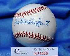 Lester Lockett Jsa Coa Hand Signed American League Autograph Baseball