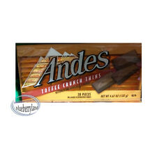 Andes Toffee Crunch Thins 132g (28 Pcs) chocolate candy sweets snacks ladies kid