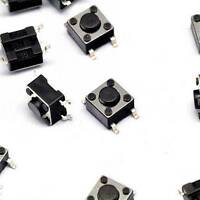 50PCS 6mm×6mm×4.3mm Tact Tactile Push Button Switch SMD-4Pin NEW