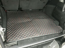 JWM-01 NEW Customized Trunk Mat Cargo Liner For 18 Jeep Wrangler JL Mat Leather