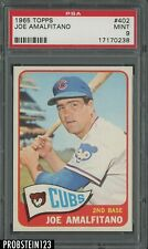 1965 Topps #402 Joe Amalfitano Chicago Cubs PSA 9 MINT