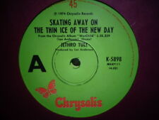 "Jethro Tull ""Skating Away On The Thin Ice Of The New Day"" 1974 CHRYSALIS Oz 7"""