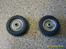 CORGI MAJOR 1100 SERIES ORIGINAL 1960s SCAMMELL SPARE WHEEL X1 PLUS NEW TYRE