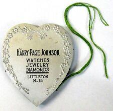 1890's HARRY-PAGE JOHNSON Littleton New Hampshire figural aluminum PIN CUSHION ^