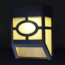 Neu Solarleuchte Wandleuchte Solarlampe 2 LED Licht Garten Yard Leuchte Strahler