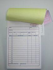 10 Pack Sales Order Book 33 Triplicate Forms Carbonless 3 Copy's