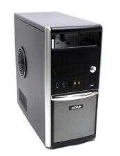 Micro ATX PC Gehäuse MidiTower USB 3.0 schwarz   #309679