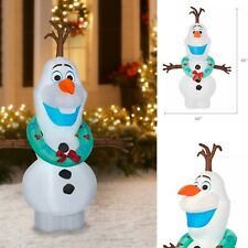 ❄️Disney's Frozen Olaf Snowman Christmas Airblown Inflatable 🌟5.5 FT🌟