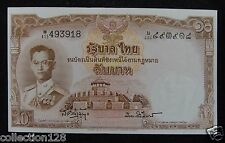 Thailand Banknote 10 Baht 1953 #W/415 493918