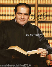 Antonin Scalia Supreme Court Justice reprint signed 11x14 poster photo #1 RP