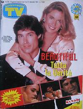 SORRISI 50 1991 Ronn Moss Joanna Johnson Franco Battiato Larry Hagman Linda Gray