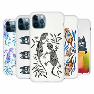 OFFICIAL CAT COQUILLETTE ANIMALS 2 GEL CASE FOR APPLE iPHONE PHONES
