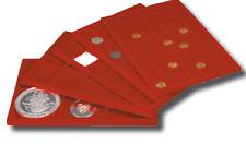 Vassoio per Monete Master Phil Grande in floccato rosso collezionismo Coins&More
