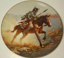 Hamilton Collection Chuck Ren Spirit of Plains Mystic Warriors American Indian