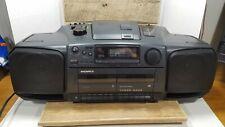 Magnavox AZ 8400 Radio Cassette Recorder CD Player Boombox Good Clean Shape