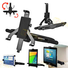 """360°Support Voiture appui-tête Pour Tablette 7""""-10"""" iPad 2 3 4 AIR Samsung Tab"""